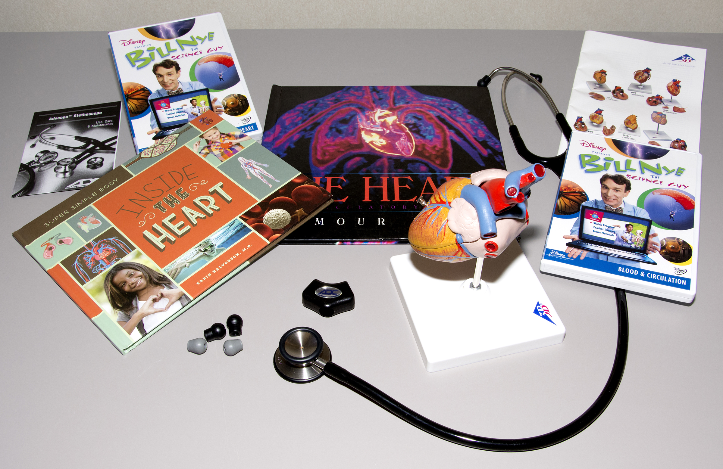 Heart science kit